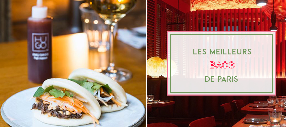 Les Meilleurs Bao Classic, Chicken et Veggie de Paris