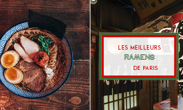 the best ramen in Paris including Menkicchi, Kodawari ramen, Supu ramen, Ippudo, Neko Ramen