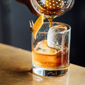 Cocktail Mojito framboise, Cosmopolitan, Pina Colada from Le Reservoir bar