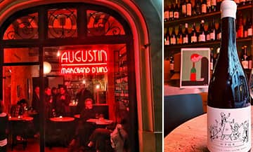 Augustin, the new organic winebar in Paris
