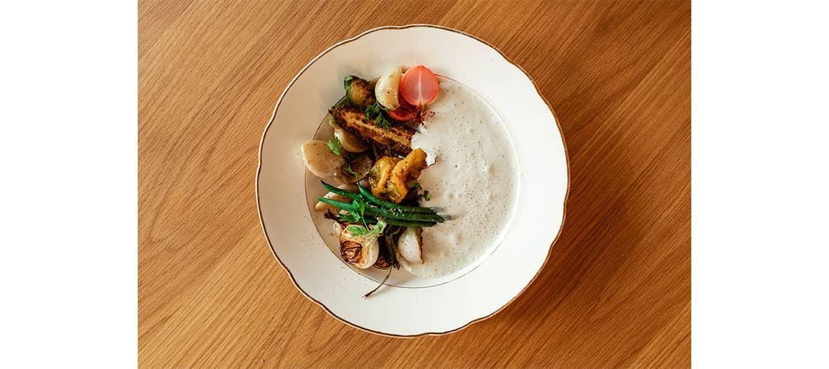 Plats veggie, végan, sans gluten ou lactose free chez Alexandre Marchon