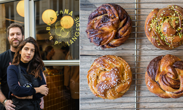Portrait of Sarah Amouyal and Emmanuel Murat from Babka Zana bakery