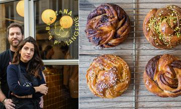 Portrait de Sarah Amouyal et Emmanuel Murat de la boulangerie Babka Zana