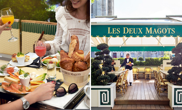 The new brunch of Les Deux Magots in Paris