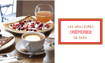 Our favourite 10 stylish crêperies