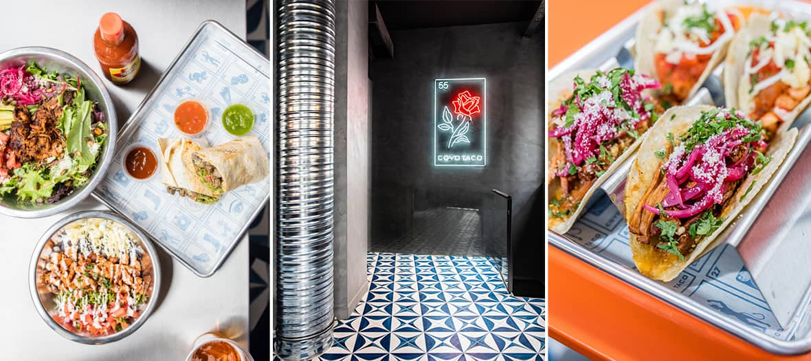 Coyo Taco, the new trendy address in Paris created byAlan Drummond, Sven Vogtland et Scott Linquist.