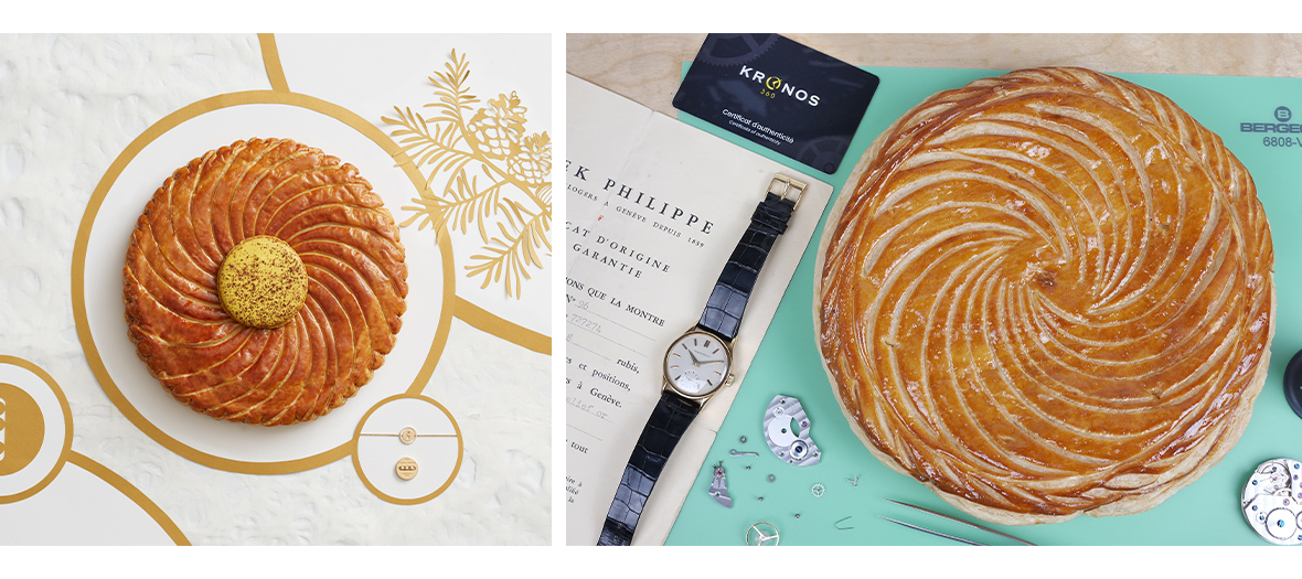 galettes from pierre hermé and messika with a collector fève