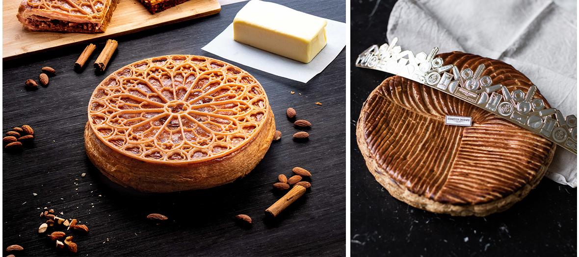 galettes à la frangipane classique et frangipane chocolatée de Christine Phung