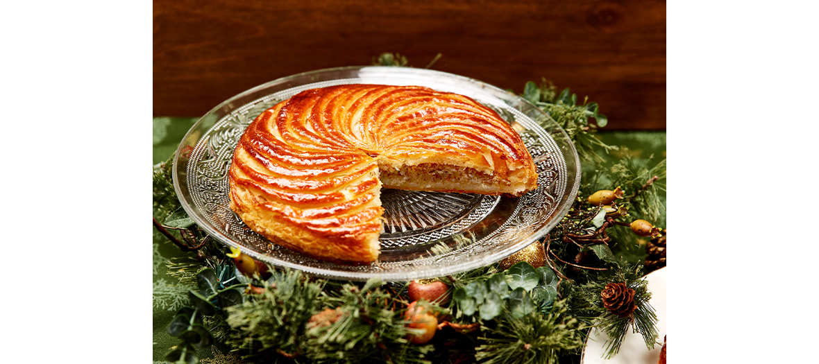 The gluten free galette from the patisserie Helmut Newcake