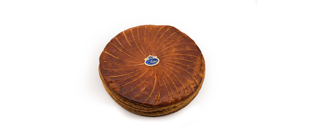 Classical almond marzipan Galette from Jeffrey Cagnes.