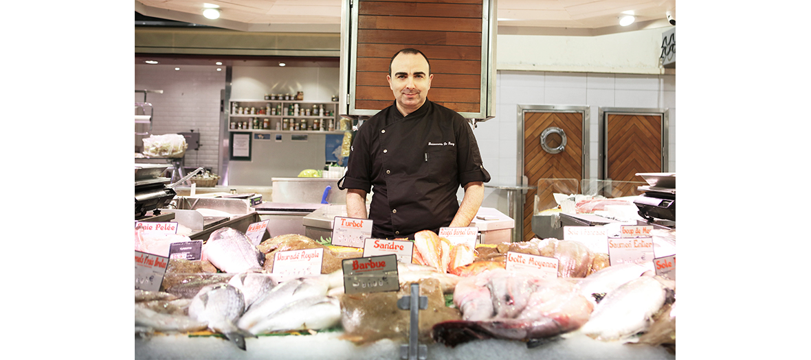 Christophe Hierax at Fish and Shops in Paris