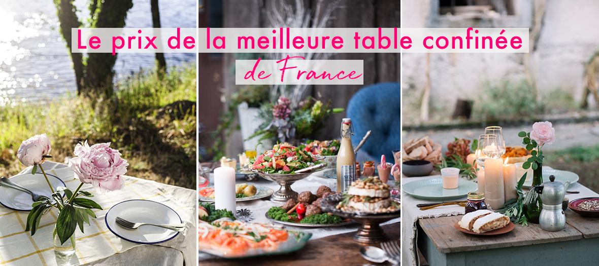 Le Fooding avec doitinparis a imaginé un jeu concours aussi cool que pointu pour élire la meilleure table confinée de France