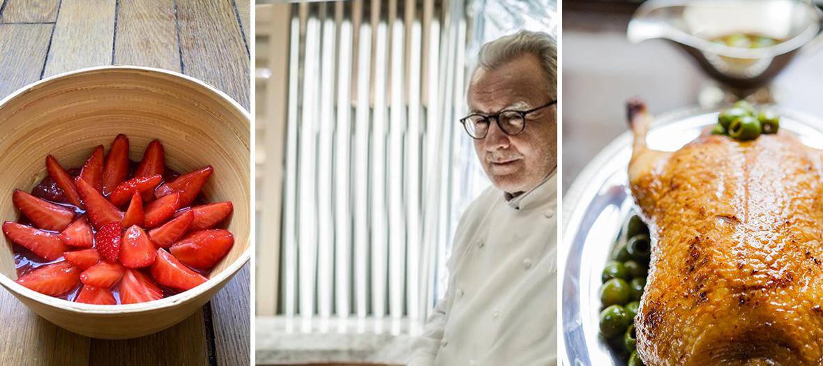 Un service de livraison dans tout Paris, digne d'un room service des palaces où Alain Ducasse a l'habitude de cuisiner.