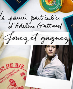 Win the panier particulier of Adeline Grattard