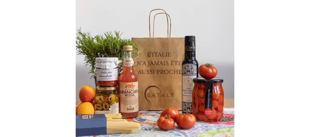 Livraison des meilleurs produit et plats italiens avec le risotto à la truffe, le Parmigiano Reggianno AOP