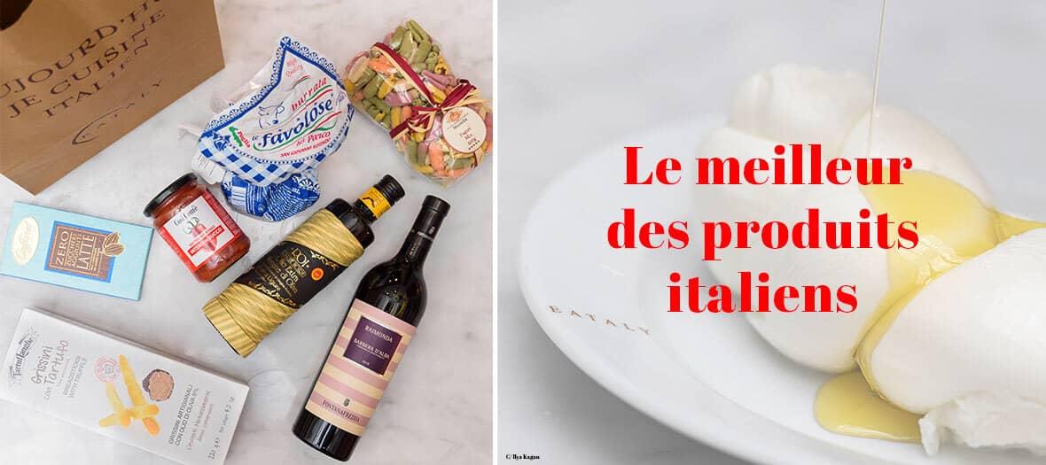 Livraison des meilleurs produits italiens par eataly