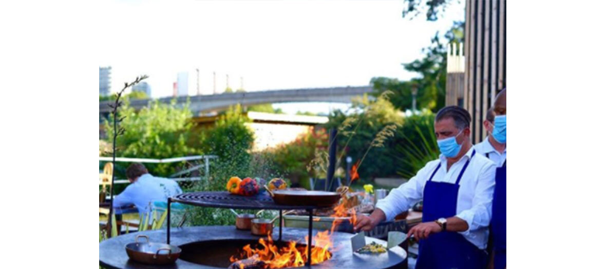 Le barbecue du Splash avec Norbert Tarayre