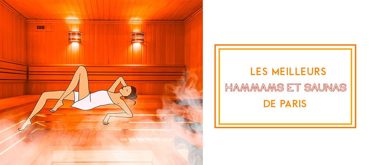 Les meilleurs Saunas et Hammams de Paris