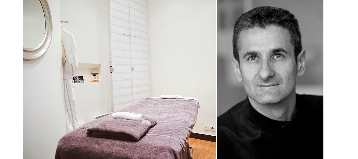 Portrait du thérapeute Xavier Mehat au Paris Palms Massage
