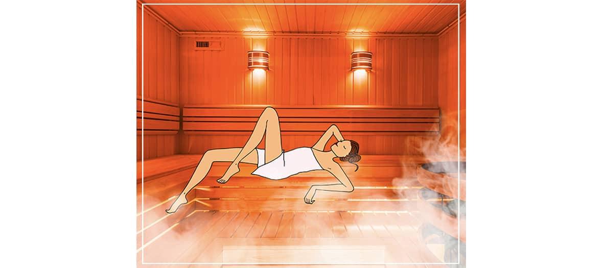 Le sauna le centre tout naturellement à Paris