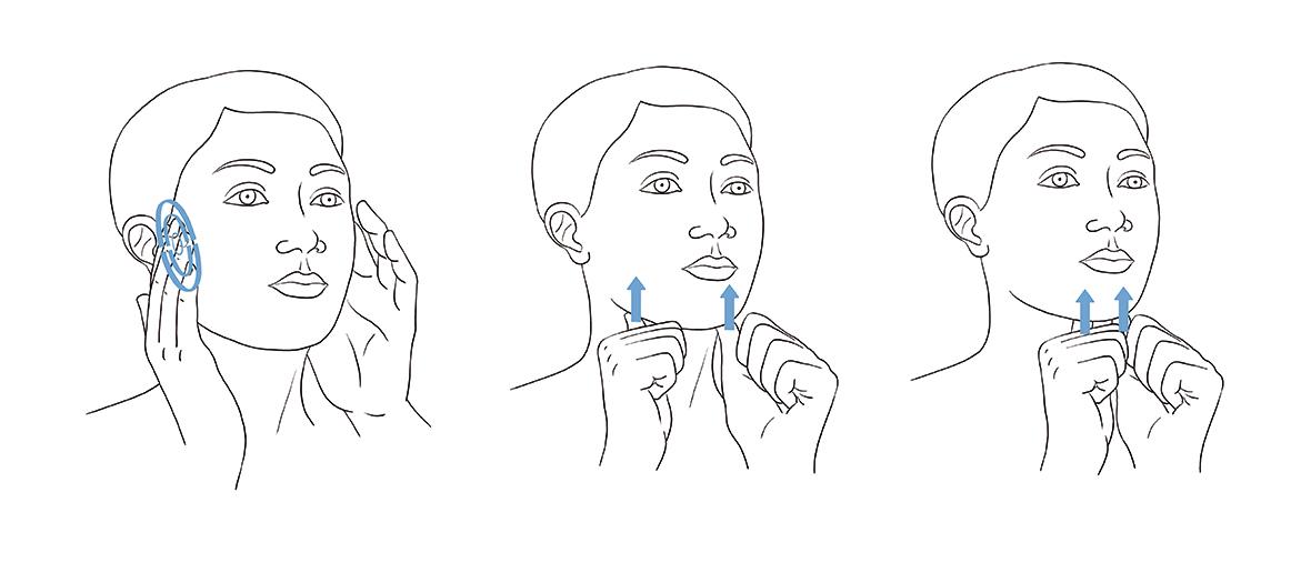 Les zones à masser contre le mal du cou