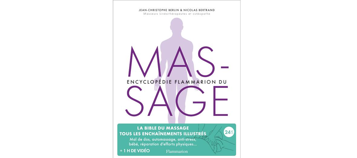 Couverture du Livre Encyclopédie du Massage de Jean-Christophe Berlin et Nicolas Bertrand
