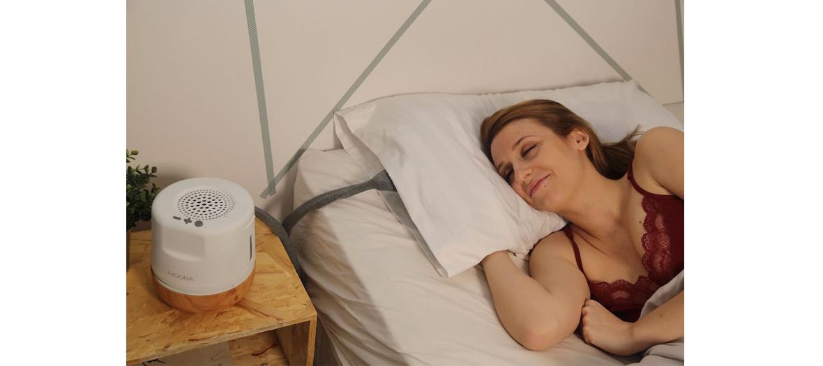 Monna améliore le bien-être des personnes souffrant de troubles de sommeil en proposant des solutions naturelles pour réguler la température corporelle