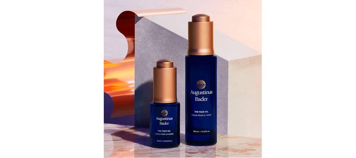 The Face Oil, une huile de soin de haute qualité pour le visage avec un système d'application innovant favorisant une absorption rapide de chez Augustinus Bader.