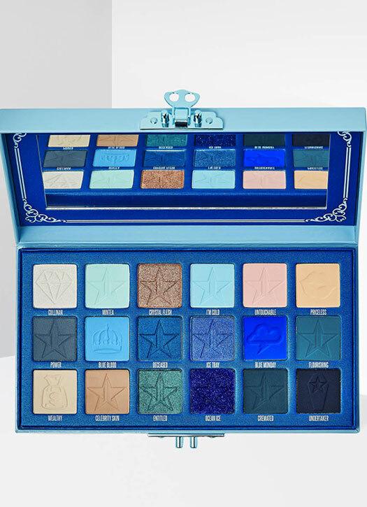 Palette Blue Blood Eyeshadow, Jeffree Star Cosmetics