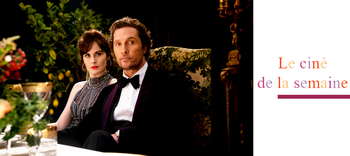 Portrait de Matthew McConaughey et Michelle Dockery acteurs du films The Gentlemen