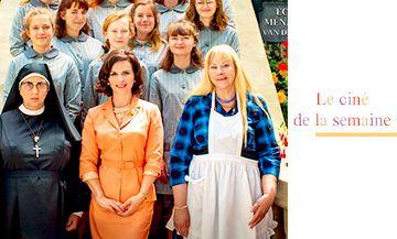 La Bonne Epouse avec Elise Girard, Juliette Binoche, Yolande Moreau, Maria Zabucovec, Anamaria Vartolomei, Lili Taeib et Noémie Lvovsky
