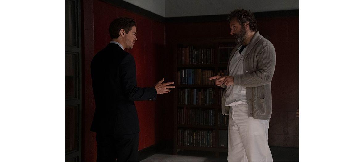 Tom Payne et Micheal Sheen acteurs de la Serie Prodigal Son
