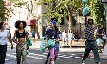 Serie Betty sur OCS de Crystal Moselle avec Nina Moran, Rachelle Vinberg, Ajani Russel, Ardelia Lovelace et Kabrina Adams