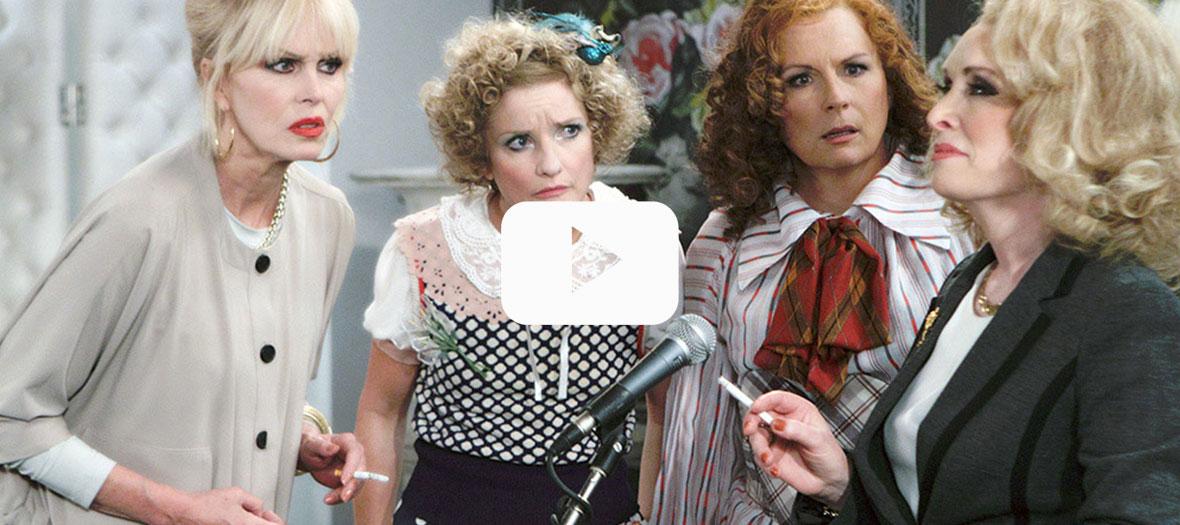 Série absolutely fabulous avec Jennifer Saunders et Johanna Lumley