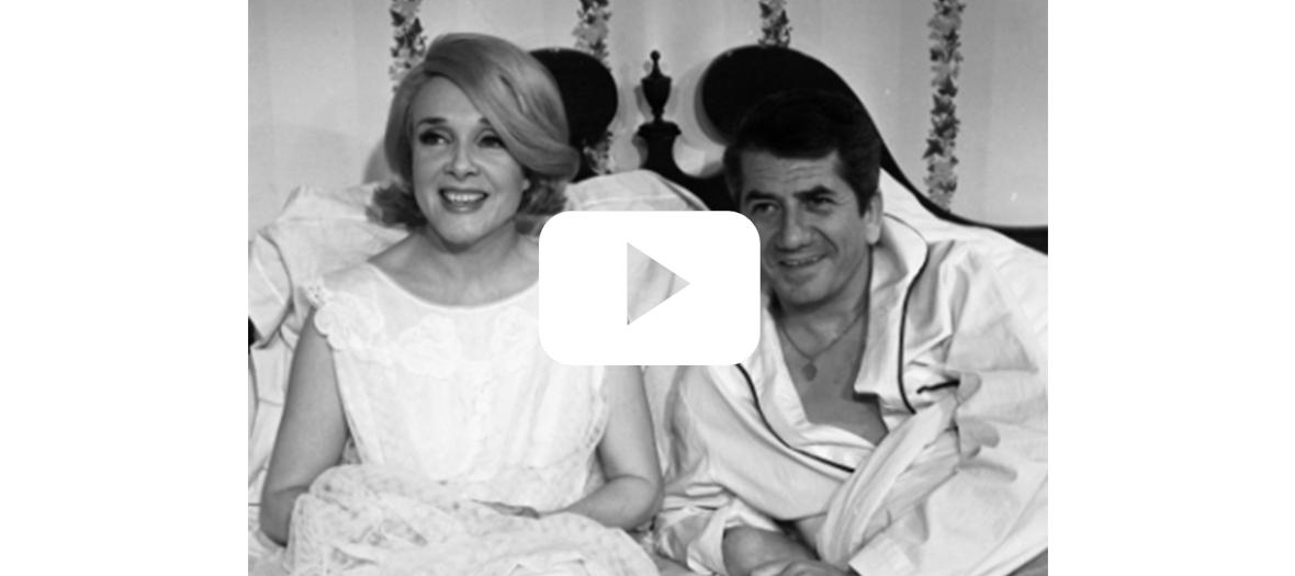 Série Les Saintes Chéries avec Micheline Presle et Daniel Gélin