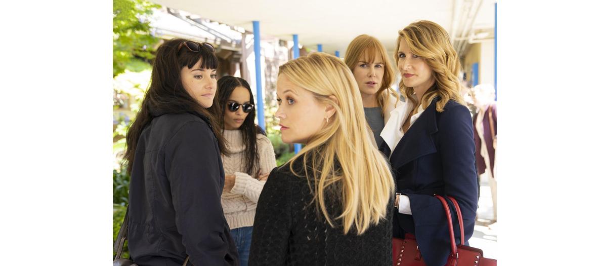 Série Big Little Lies Davic E.Kelley avec Nicole Kidman, Reese Witherspoon et Zoé Kravitz