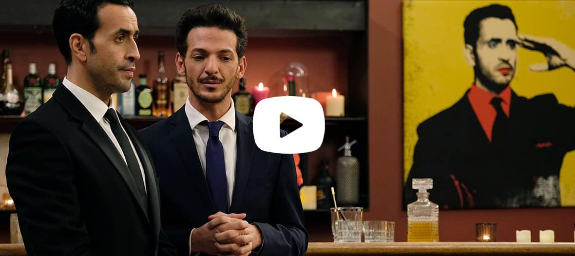 Extrait de la série La Flamme avec Jonathan Cohen et Vincent Dedienne