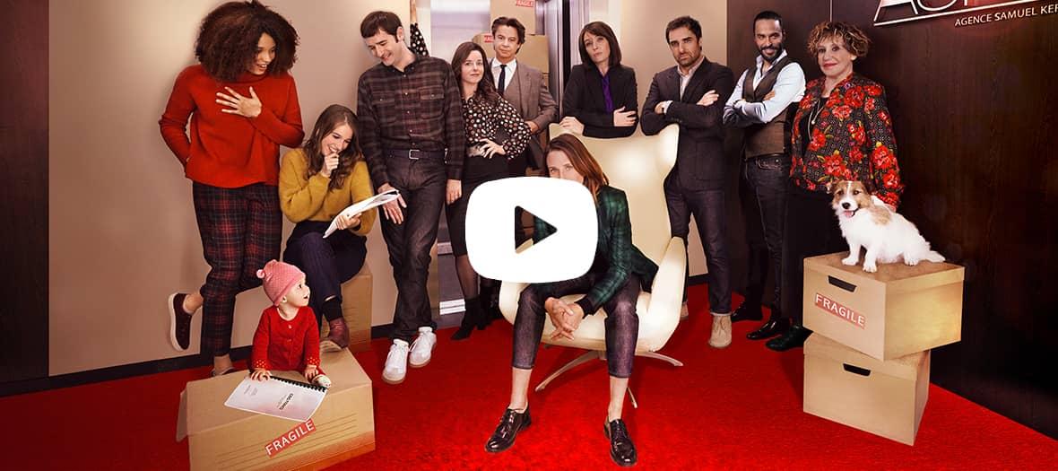 Bande annonce de la série 10 pour cent sur France 2 avec Camille Cottin, Thibault de Montalembert, Stefi Celma et Nicolas Maury.