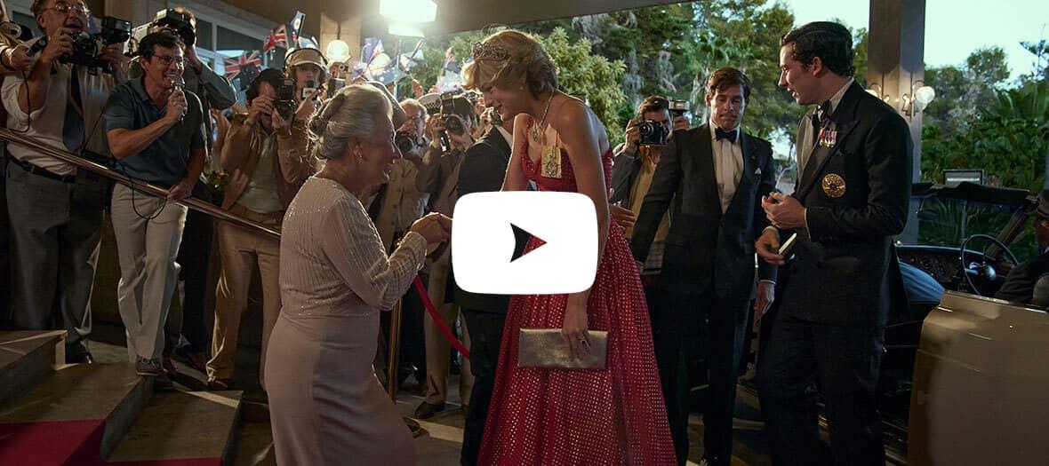 Extrait de The Crown saison 4 avec la Princesse Diana