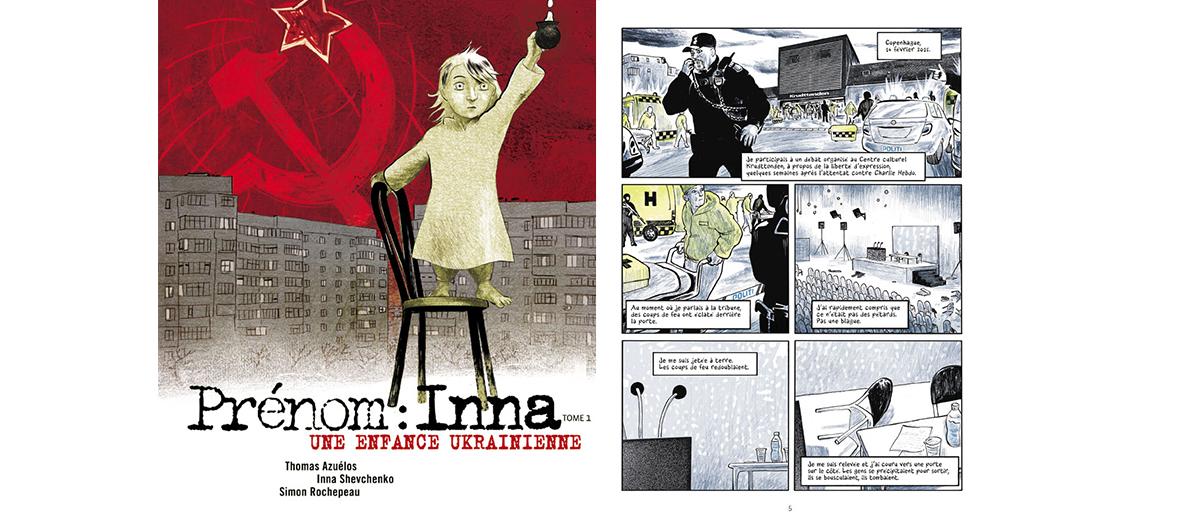 La BD Prénom : Inna de Inna Shevchenko et Thomas Azuélos