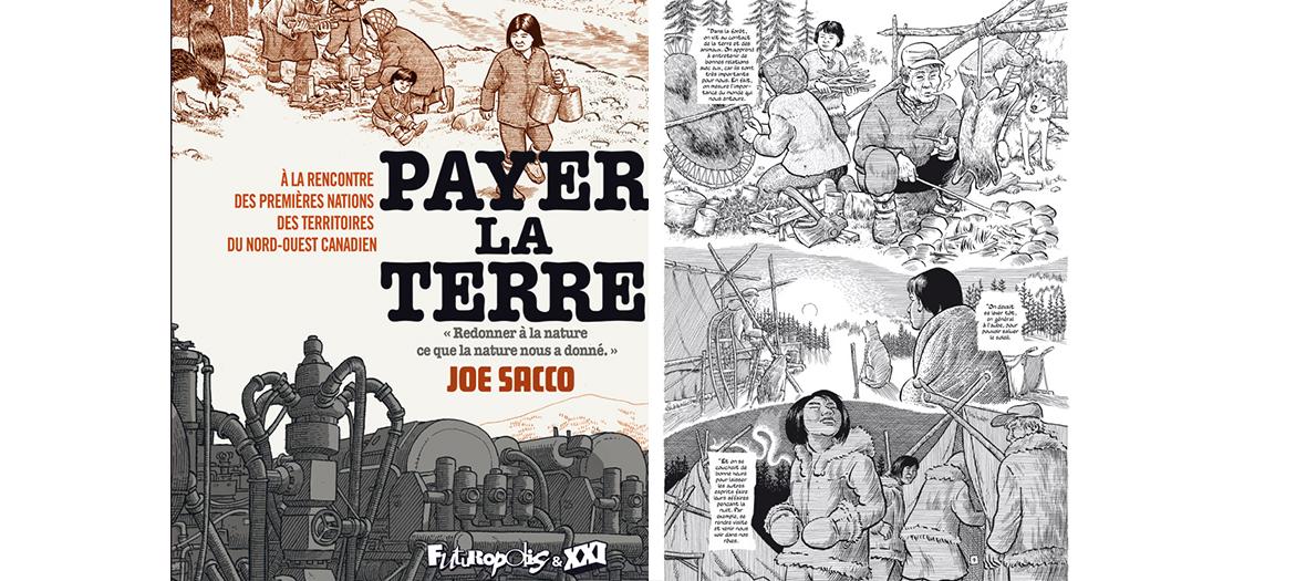 BD payer la terre de Joe Sacco