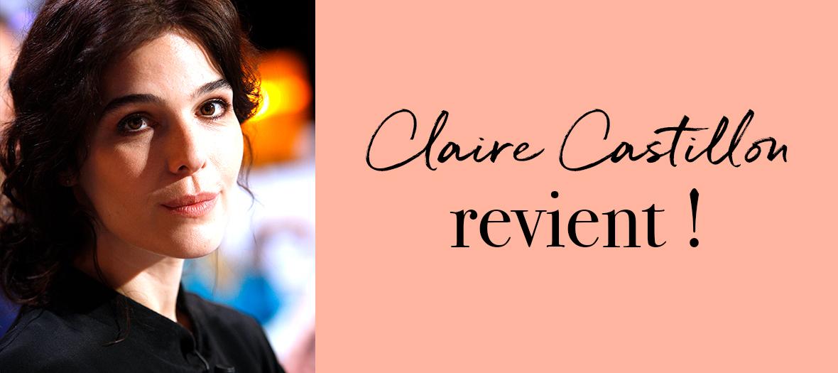 Portrait de Claire Castillon auteur du Roman Marche Blanche