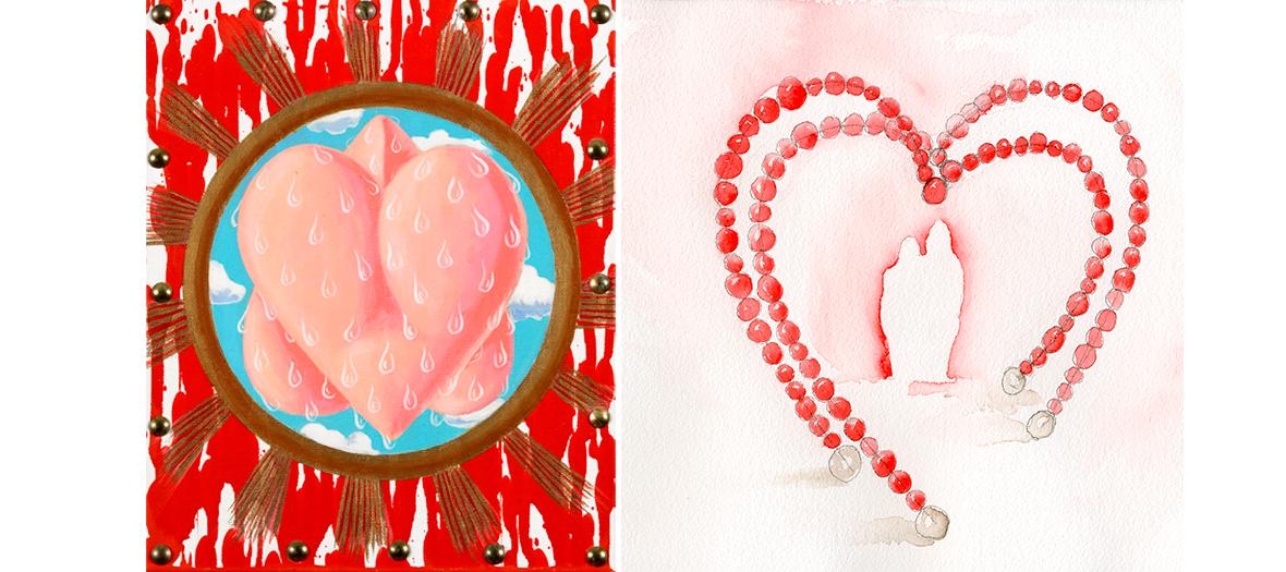 Multiple représentation du cœur et du romantisme à travers les œuvres de 40 artistes, de Sophie Calle à Pierre et Gilles en passant par Niki de Saint-Phalle