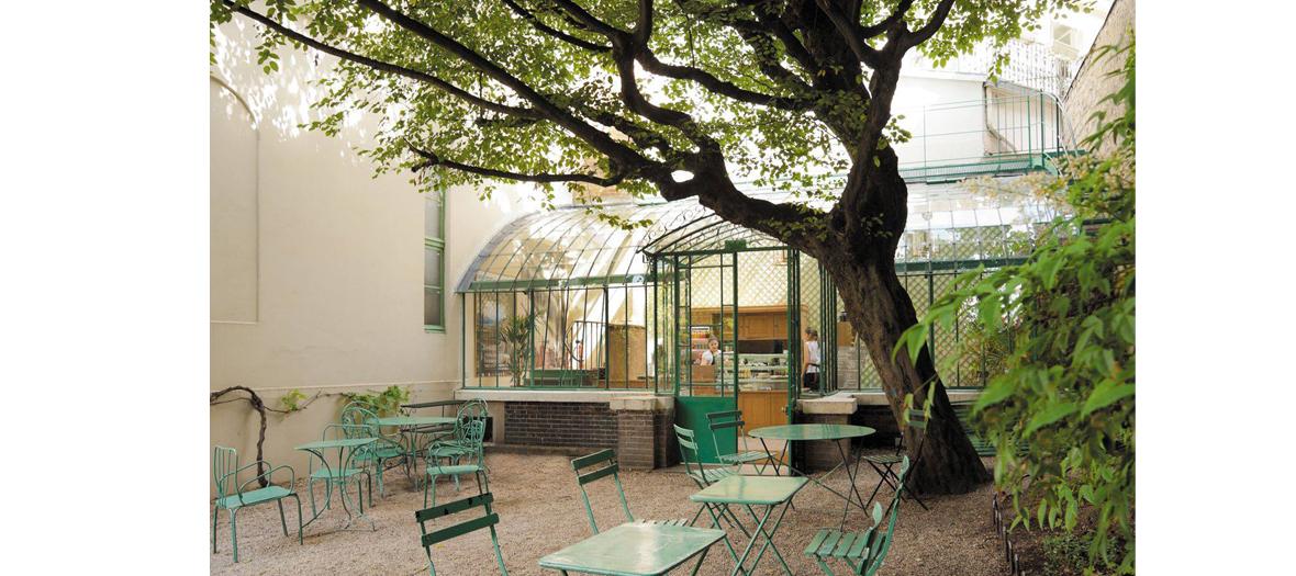 rose bakery brunchat the musée de la vie romantique in Paris