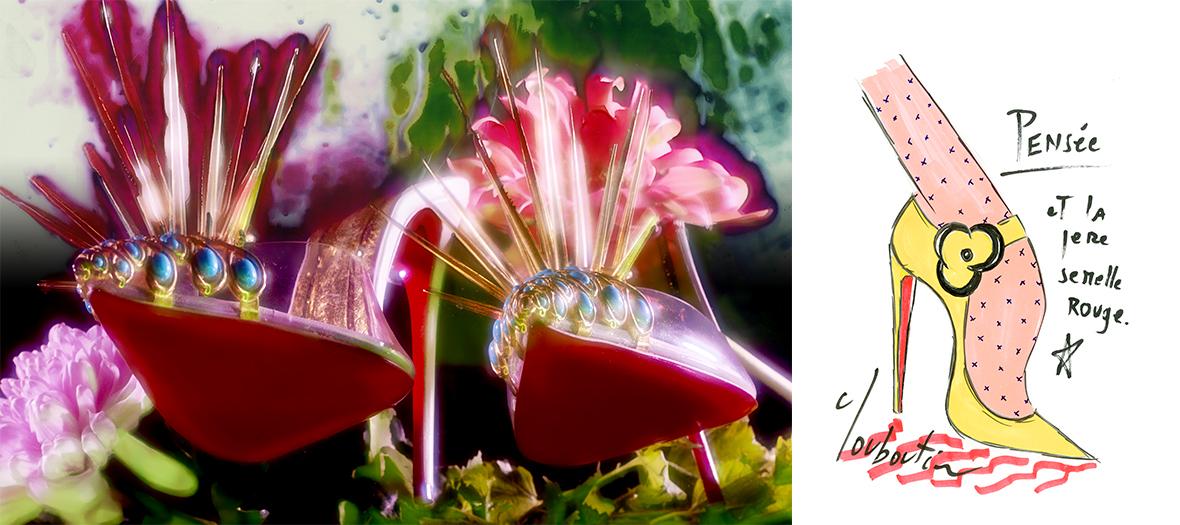 Chaussures Louboutin à talons pour femmes