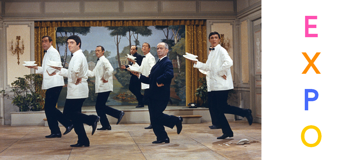 Expo Louis De Funes Cinematheque Francaise