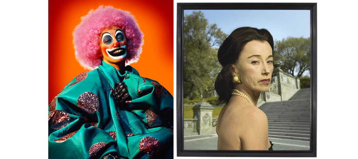 Cindy Sherman exhibitions at the Louis Vuitton fundation in Paris