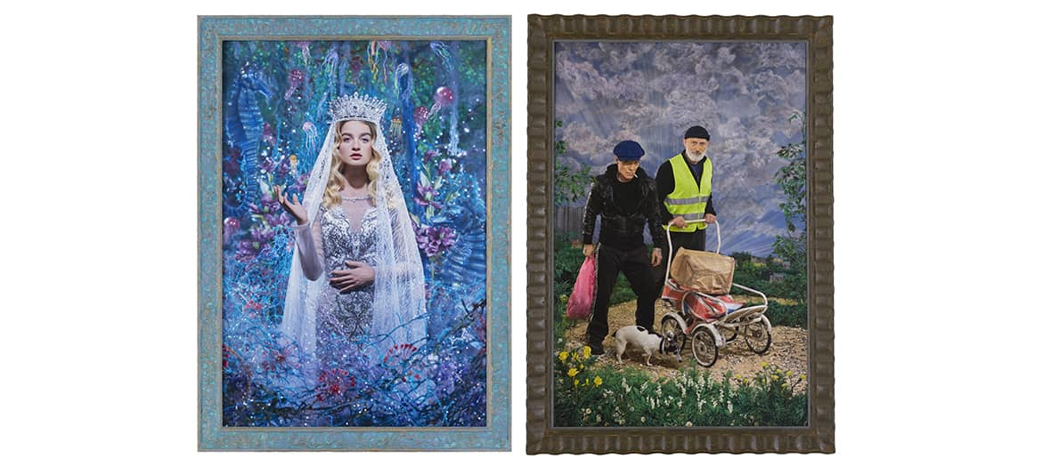 Errances Immobiles exhibitions from Pierre et Gilles at the galerie Templon gallery in Paris