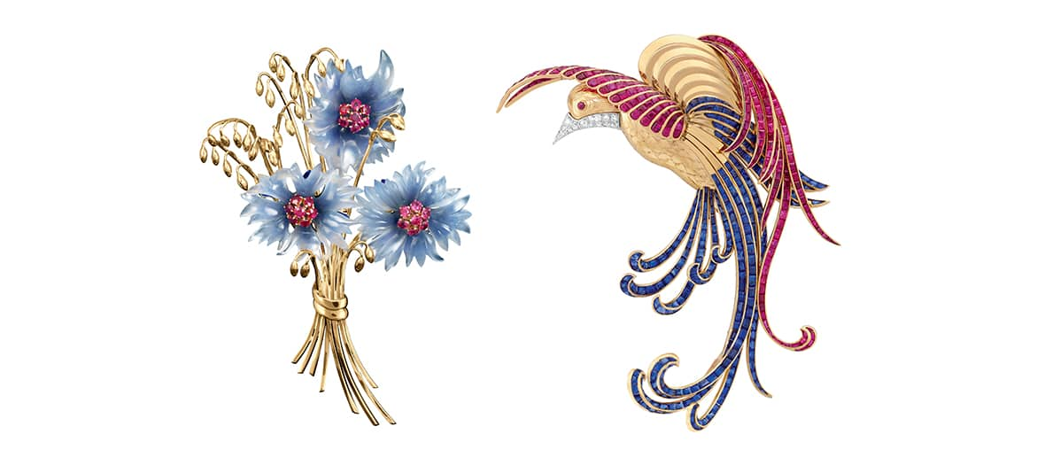 Van Cleef Arpels exhibitions at the jardin des plantes in Paris