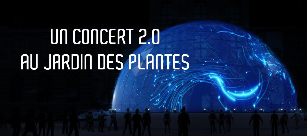 Concert Dassault Virtual Harmony au Jardin des Plantes